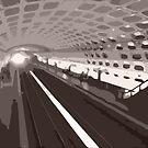 Metro abstraction by Morag Anderson