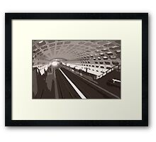 Metro abstraction Framed Print
