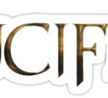 LUCIFER logo Sticker