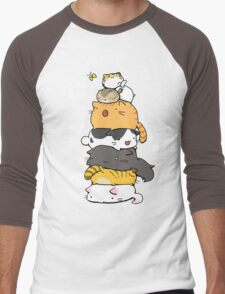 Cat Tower Men's Baseball ¾ T-Shirt