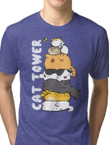 Cat Tower Tri-blend T-Shirt
