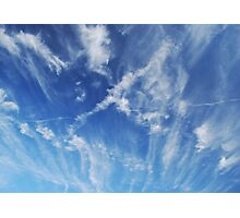 Sky Marks Photographic Print
