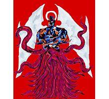 Dark Creator Halo - Red Photographic Print