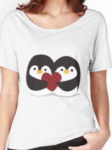 Penguin Love Women's Relaxed Fit T-Shirt
