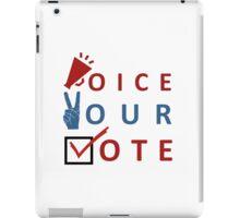 Voice Your Vote iPad Case/Skin