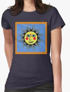 SUNNY LISA SMILES Womens Fitted T-Shirt