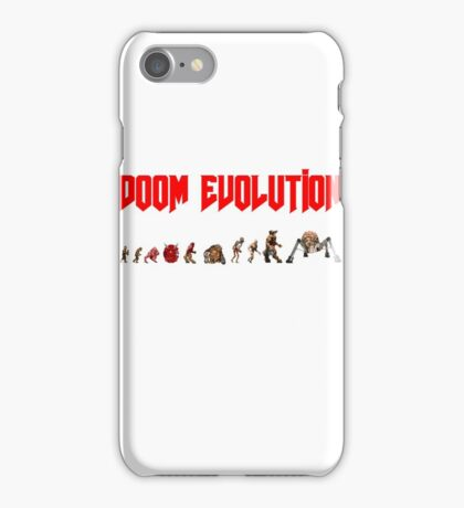 Doom Evolution iPhone Case/Skin