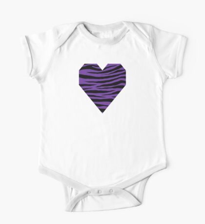 0556 Purple Heart Tiger One Piece - Short Sleeve