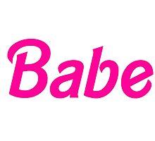 Babe Photographic Print