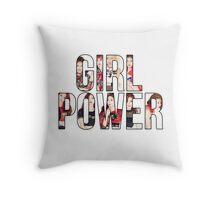 Girl Power - Twice Throw Pillow