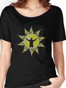 LEMON YELLOW SUN - ARMS RAISED IN A V (JEREMY - PEARL, JAM INSPIRED T) Women's Relaxed Fit T-Shirt