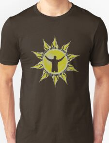 LEMON YELLOW SUN - ARMS RAISED IN A V (JEREMY - PEARL JAM INSPIRED T) Unisex T-Shirt