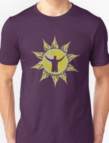 LEMON YELLOW SUN - ARMS RAISED IN A V (JEREMY - PEARL JAM INSPIRED T) Unisex T-Shirt