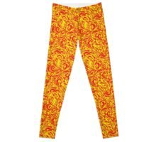 Love Swash in Red and Yellow! Leggings