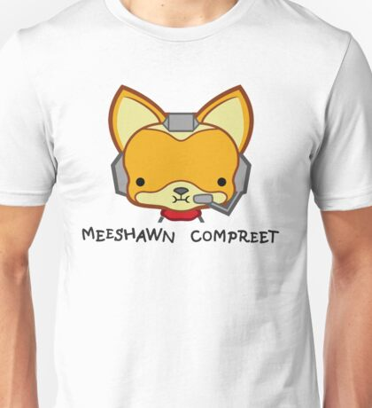 Meeshawn Compreet Fox Unisex T-Shirt