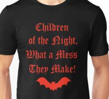 Dracula Dead and Loving It: Children of The Night Unisex T-Shirt