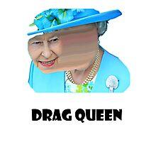 Elizabeth Drag queen Photographic Print