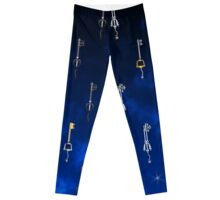 Keys of the World Leggings