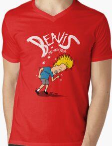 He heh Yeah Mens V-Neck T-Shirt