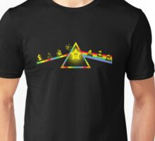 The Dark Side of The Rainbow Road Unisex T-Shirt