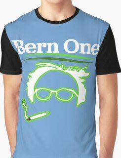 BERN ONE! Smoke 4 Bernie #feelthebern Graphic T-Shirt