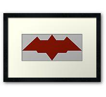 The Ruthless Vigilante Framed Print