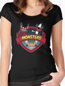 Monsters Women's Fitted Scoop T-Shirt