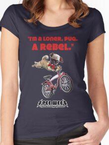 Rebel Pee Wee Women's Fitted Scoop T-Shirt