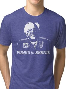 Punks for Bernie Tri-blend T-Shirt