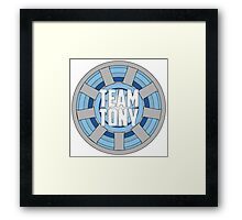 Team Tony Framed Print