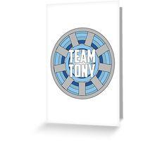 Team Tony Greeting Card