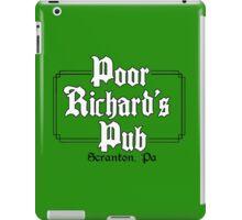 Poor Richard's Pub iPad Case/Skin