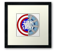 Team Stony Framed Print