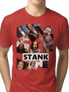 STANK BOYS SHIRT RON JEREMY #REPRESENT Tri-blend T-Shirt
