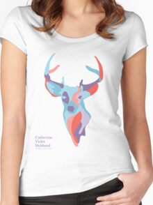 Catherine's Deer - Light Shirts Women's Fitted Scoop T-Shirt