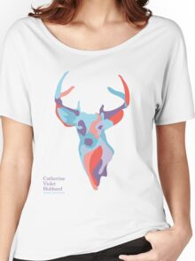 Catherine's Deer - Light Shirts Women's Relaxed Fit T-Shirt