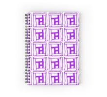 Sta, Sta, Stairs (PURPLE) Spiral Notebook