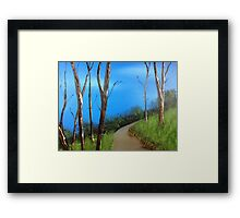Up and Around Framed Print