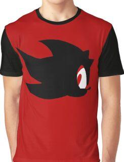 Shadow the hedgehog silhouette  Graphic T-Shirt