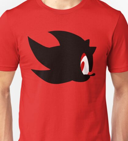 Shadow the hedgehog silhouette  Unisex T-Shirt