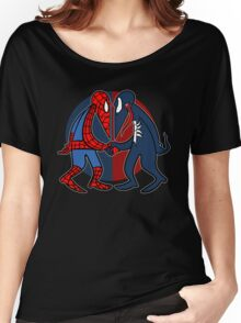Spider vs Symbiote Women's Relaxed Fit T-Shirt