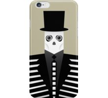 Mr Skull in Skeleton Suit iPhone Case/Skin