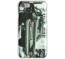 FORD MUSTANG GT illustration 60's edition iPhone Case/Skin