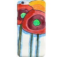 Three Poppies iPhone Case/Skin