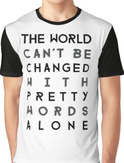 Pretty Words Graphic T-Shirt