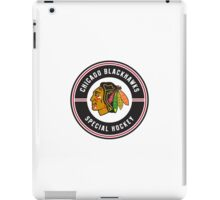 chicago-blackhawks-special-hockey-logo-transparent iPad Case/Skin