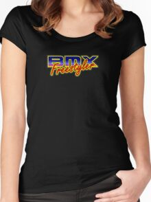 BMX Freestyler Women's Fitted Scoop T-Shirt