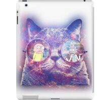 Rick and Morty Galaxy Cat iPad Case/Skin