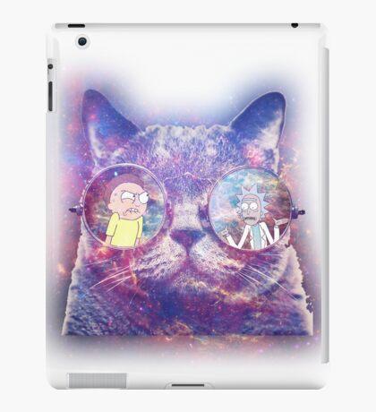 Rick and Morty Galaxy Cat iPad Case/Skin