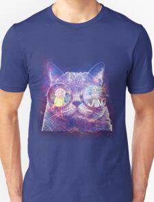 Rick and Morty Galaxy Cat T-Shirt